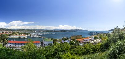 La Spezia Italy Panorama Summer View Wide