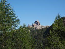 Cinque Torri, Five Towers, Mountain