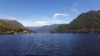 Lake, Como, Italy, Water, Lombardy