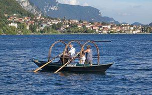 Lucia, Boat Lake, Lake Como, Lecco