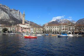 Lecco Panorama Di Lecco Lake Como Lombardy