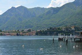 Lake, Water, Landscape, Nature, Vista