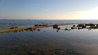 Livorno, Italy, Sea