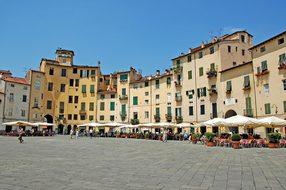 Piazza Anfiteatro Lucca Lucca Amphitheatre