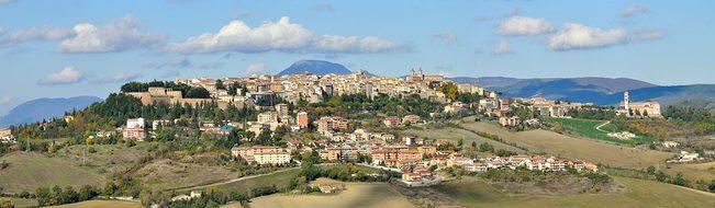 Panorama, Landscape, Camerino, Macerata