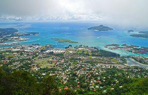 Seychelles Victoria Mahé Island Landscape