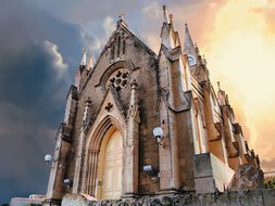 Gozo, Church, Lourdes, Catholic, Europe