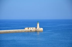 Malta Lighthouse Lantern The Coast View Wa
