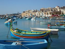 Fishing Village Port Boats Fishing Boats C