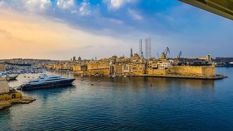 Malta, Harbor, Ship, Cruise, Fortress