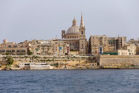Malta Church Basilica Of Our Lady Of Mt Ca