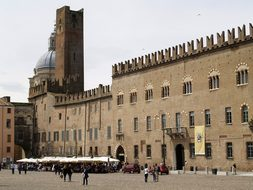 Piazza, Mantova, Italy