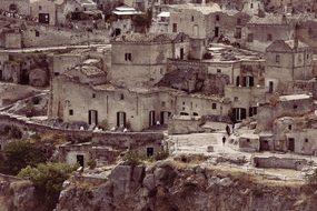 Matera, Sassi, Italy, Unesco, Basilicata