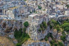 Matera, Sassi, Unesco, Italy, Basilicata