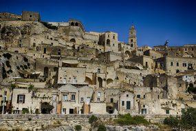Matera, Italy, Unesco, Sassi