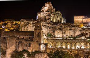 Matera, The Rock Church, Sassi, Italy