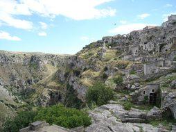 Matera Caves, Cave Dwellings