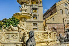 Sicily, Messina, Sculpture, Statue