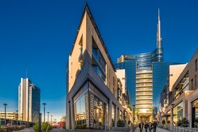 Milan Italy Lombardy Fashion Business Bank