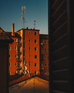 Milan, Sunset, City, Sky, Architecture