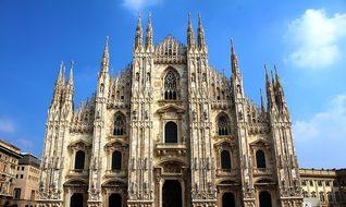Milano Milan Italy Europe Building Archite