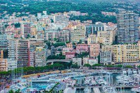 Monaco, Landscape, City, Stroll, Trip