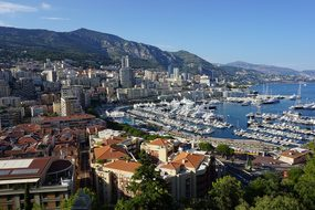 Monaco, Bay, Overhead