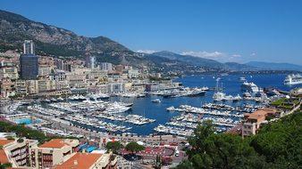 Monaco French Riviera France Bay Cote D'Az