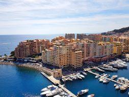 Sea Port, Monaco, French Riviera