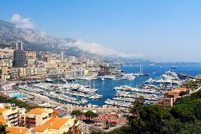 Monaco City Bay Europe France Mediterranea
