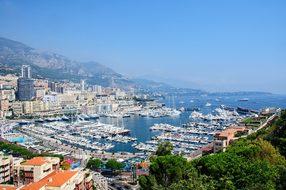 Monaco Port Principality Of Monaco Yachts
