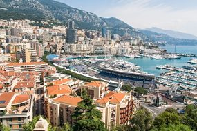 Monaco, Monte Carlo, France, Sea