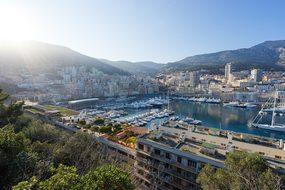 Monaco Harbor Port Yachts City Town Famous