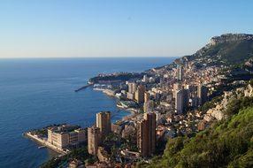 Monaco Monte Carlo Sea View Mediterranean