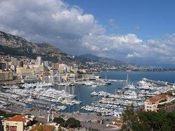 Monaco, Bay, Monte Carlo, Mediterranean