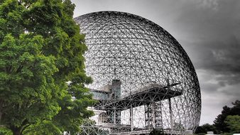 Biosphere Canada Montreal Canada Separate