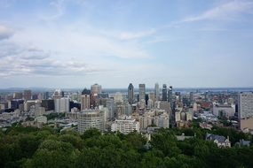 Montreal, Mont Royal, Scenic, View