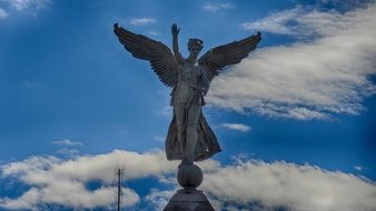 George-Etienne Cartier Montreal Angel Wing