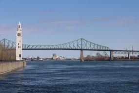 Bridge, Body Of Water, Travel, River