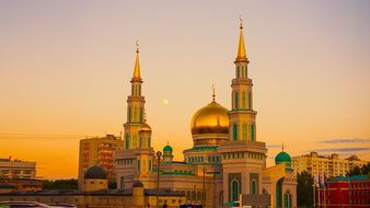 Moscow Cathedral Mosque Prospekt Mira Rama