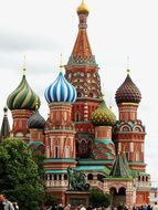 Russia Moscow Red Square Church St-Basile