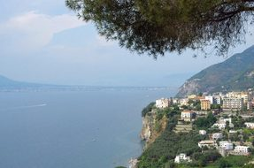 Italy, Sorrento, Gulf, Naples, Village