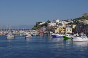 Italy, Procida, Island, Campania, Naples