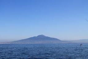 Vesuvius Naples Italy Mediterranean Mounta