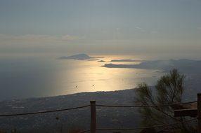 Naples, Bay, Mediteranea, Vesuvius