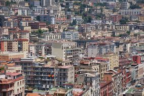 Buildings City Crowded Italy Naples Archit