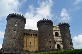Naples Italy Castle Medieval Tower Naples