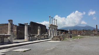 Pompeii Naples Campania Heritage Excavatio