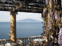 Vesuvius, Gulf Of Naples, Italy, Bower
