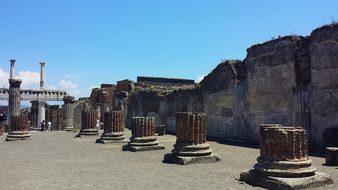 Pompeii Naples Archaeology Culture Antiqui